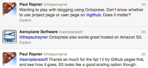 Hosting Octopress on Amazon S3